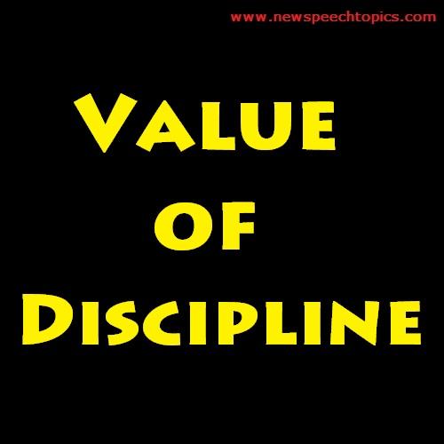 Essay Writing Topics Value of Discipline