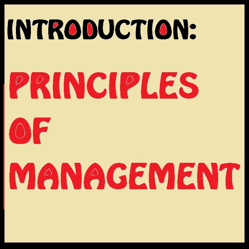 Principles of management unit 1 Introduction Study Material download