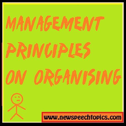 Principles of management unit 3 Organising  Study Material download