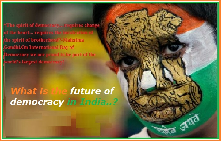 Essay on Indian democracy
